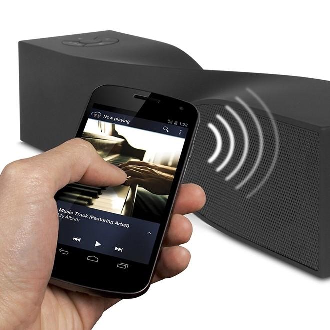 Caixa De Som Portatil Isound Twist Mini Bluetooth Preto Isound