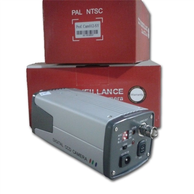 Camera Analog EXT PRO 480L CCD 1/4 S/L Cinza 012-SY NEOCAM
