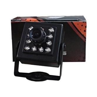 Camera Analog INT Micro IR10 480L CCD 1/4 3,6mm Preta DK-04 DKSEG