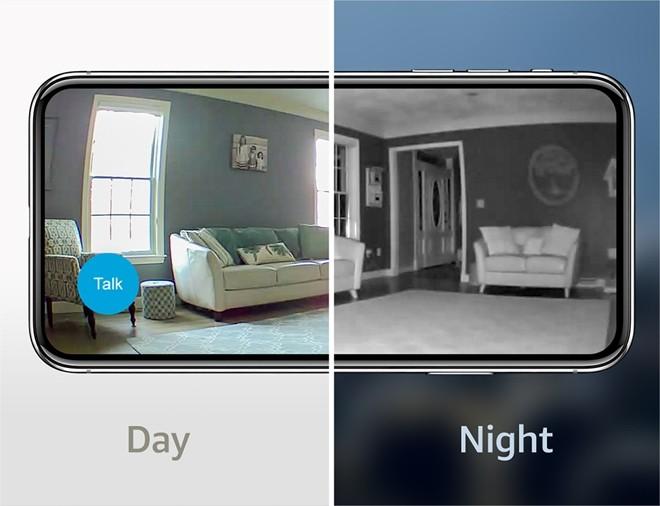 Camera Inteligente de Segurança Indoor Mini WiFi  Hd 1080p  BCM00300U Blink CFTV
