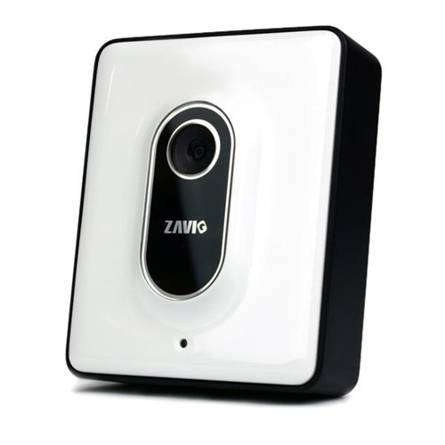 Camera IP INT Cube 1MP DIG 30Fps Branca F1100 ZAVIO
