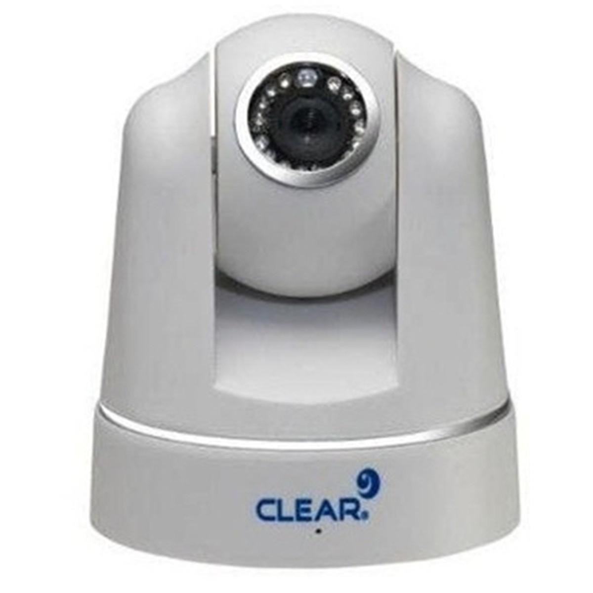 Camera IP INT PTZ IR10 VGA DIG 15Fps 1/4 Branca dfggfd CL IP10 CLEAR