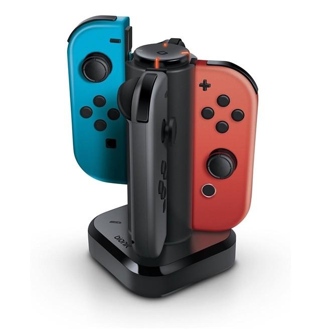Carregador Nintendo Switch Tetra Dock Charger Bionik null Nintendo