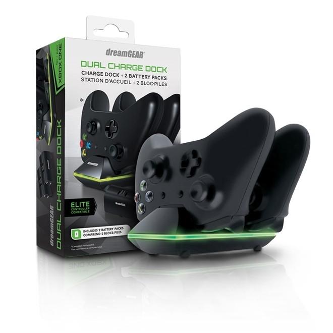 Carregador Xbox One Dual Dock Charger 2 em 1 DREAMGEAR
