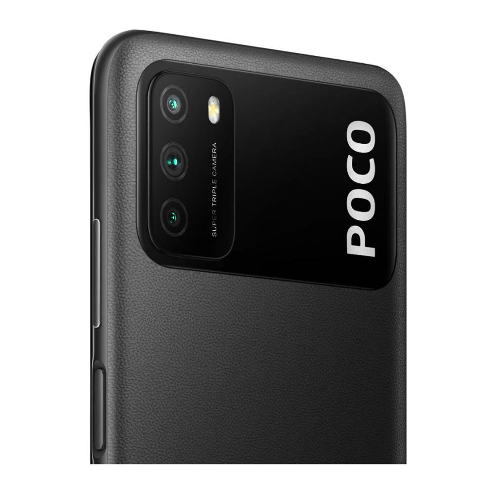 Celular Smartphone POCO M3 128GB 4GB POWER Black M2010J19CG Xiaomi