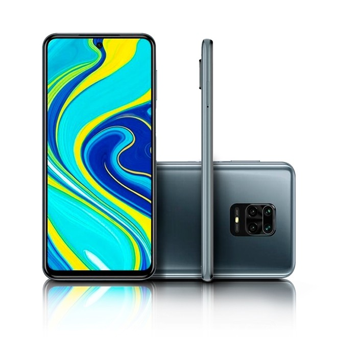 Celular Smartphone Redmi Note 9S 64gb 4Gb CinzaTela 6.67/48m 720 Qualcomm Xiaomi