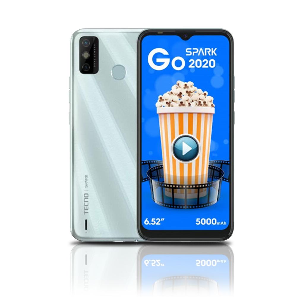Celular Smartphone Spark 6Go 64GB 4GB 5000mAh Branco KE5K TECNO