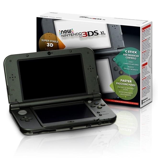 Console New Nintendo 3DS XL Preto 3DS XL Nintendo