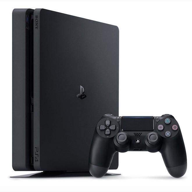Console Playstation 4 500gb Slim Com Controle Ps4 Sem Fio Ps4 Sony
