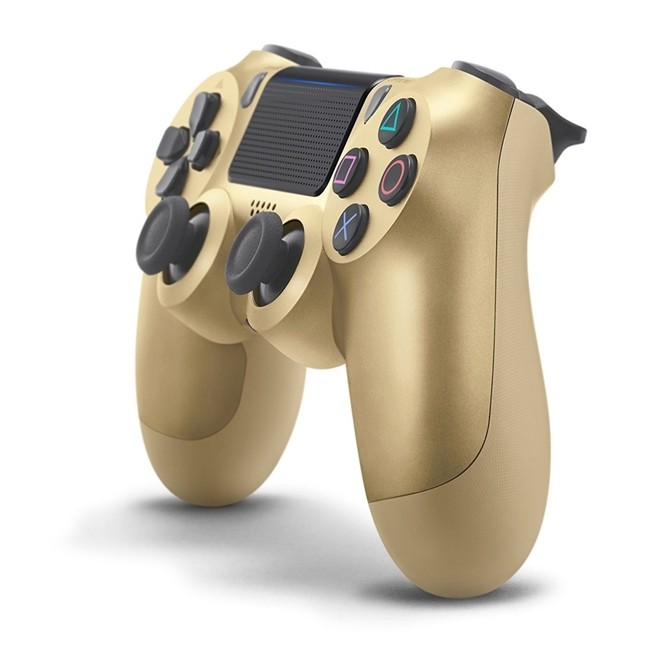 Controle Ps4 Sem Fio Dualshock 4 Gold Playstation 4 Sony