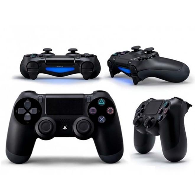 Controle PS4 Sem Fio Dualshock 4 Preto