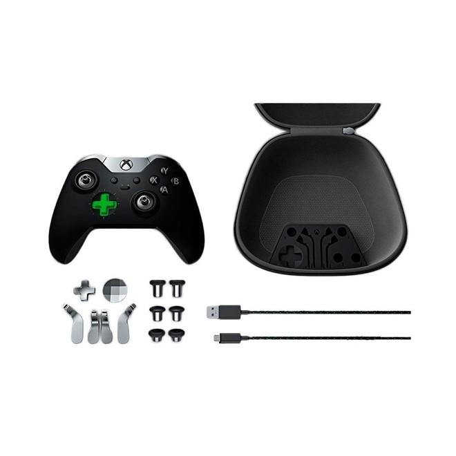 Controle Xbox One Elite Preto Wireless  Microsoft
