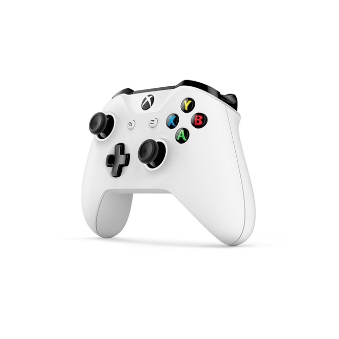 Controle Xbox One S Sem Fio Branco Wireless  Microsoft