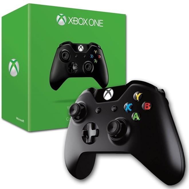Controle Xbox One Sem Fio Preto Wireless 1697 Microsoft