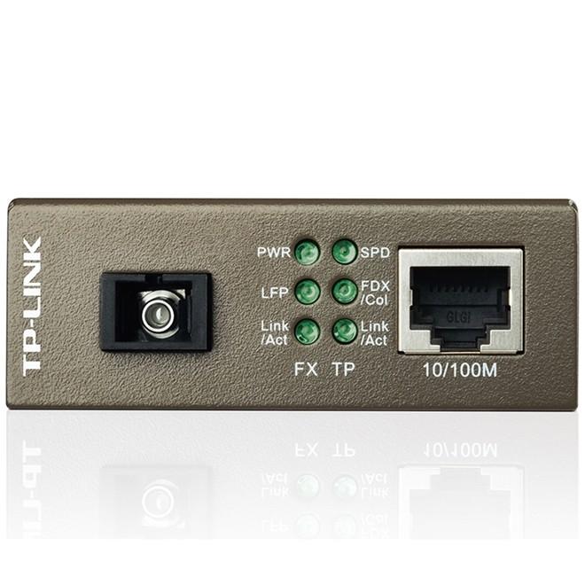 Conversor De Midia Wdm 10/100 Lado B Mc112cs Tp Link