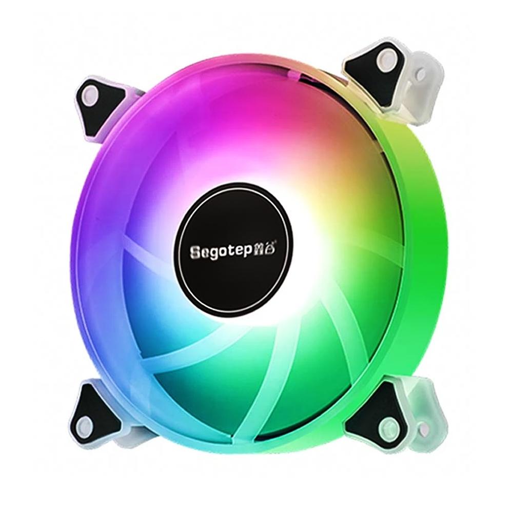 Cooler para Gabinete 120x120 Led Colorido ROMANTIC 12 Segotep