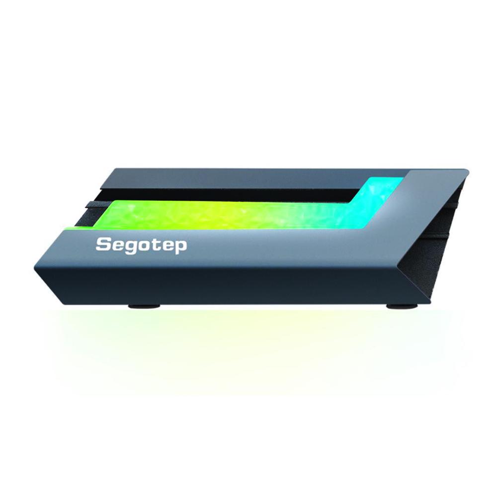 Dissipador de Calor para Ssd M.2 2280 Led RGB 5v Aluminio M1 Segotep