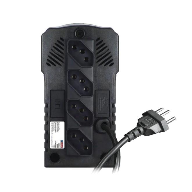 Estabilizador 1000va Monovolt 115v Preto Protetor Eletrônico F60003 EMPLAC