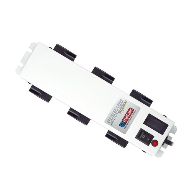 Filtro de Linha 6 Tomadas Metal Padrao Novo  F50098 Emplac