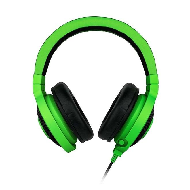 Fone De Ouvido Gamer Com Microfone Retratil Verde Oem Kraken Rz04 Razer