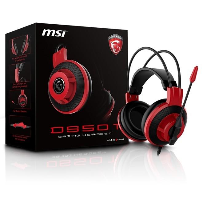 Fone De Ouvido Gamer Headset 7.1 Gaming Gear P2 Ds501 Msi