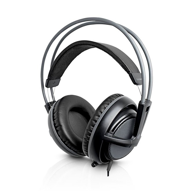 Fone De Ouvido Headset Gamer Siberia V2 P2 Preto Oem Steelseries