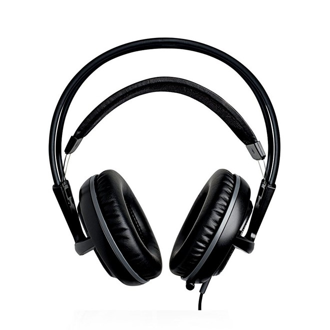 Fone De Ouvido Headset Gamer Siberia V2 Usb Preto Oem Steelseries