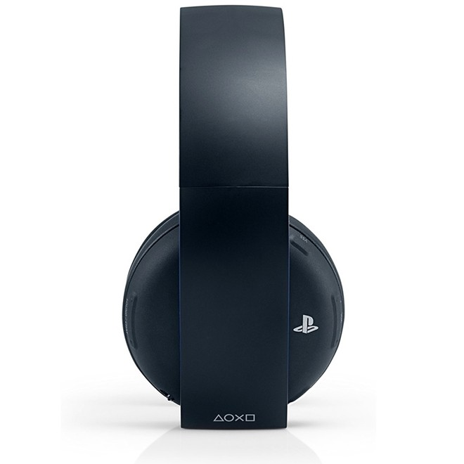 Fone De Ouvido Headset Gold Ps4 Wireless Stereo 7.1 Ps3/Ps4/Pc Sony
