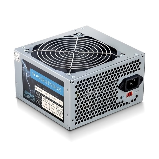 Fonte 500w Real Bivolt com Cabo BR-ONE PS-500W Power Station