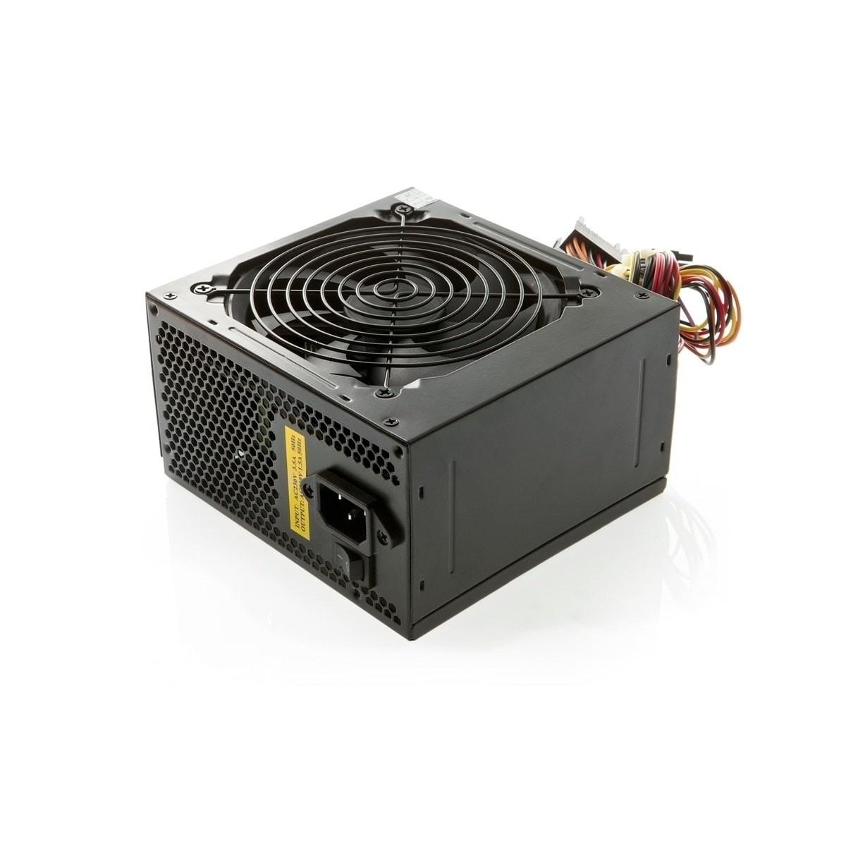 Fonte 650w Real 24ps Bivolt  c/ cabo  ATX650W GREAT/BRONE