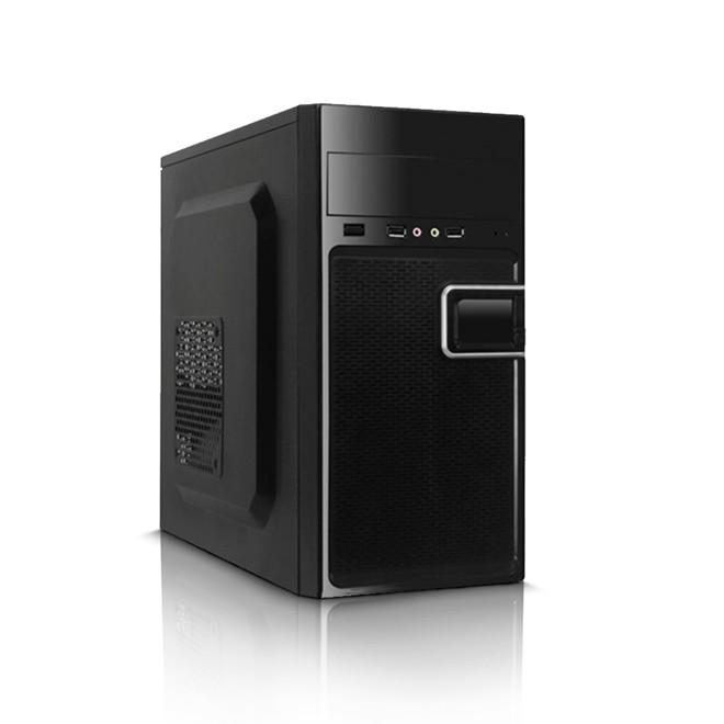 Gabinete 1 Baia K-mex c/Fonte 200w Black Piano + Cabo GM-02T9 K-mex