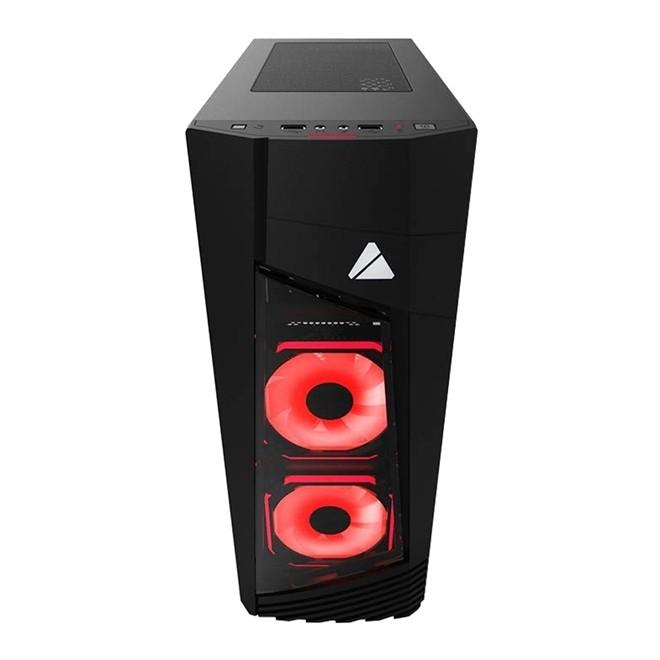 Gabinete Gamer Blaze 231G RGB Fan Vidro Temperado BLAZE-231G Azza
