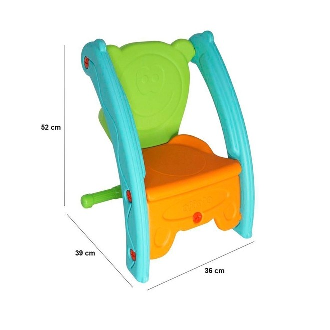 Gangorra e Cadeira Infantil BW052 Importway