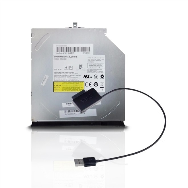 Gravador Externo Usb 2.0 Dvd Rw - 8x COMBO  ASEL