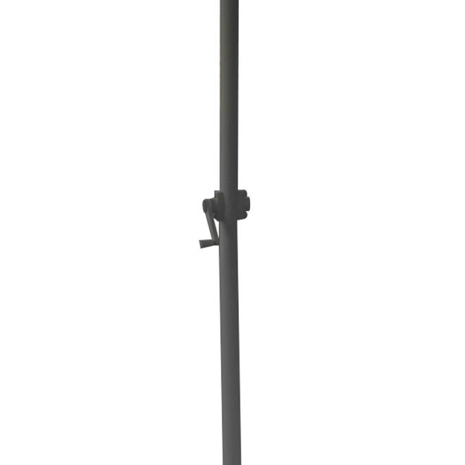Guarda Sol Ombrelone Central Aluminio Polyester 2,70 Branca IWOBC-270BR Importway