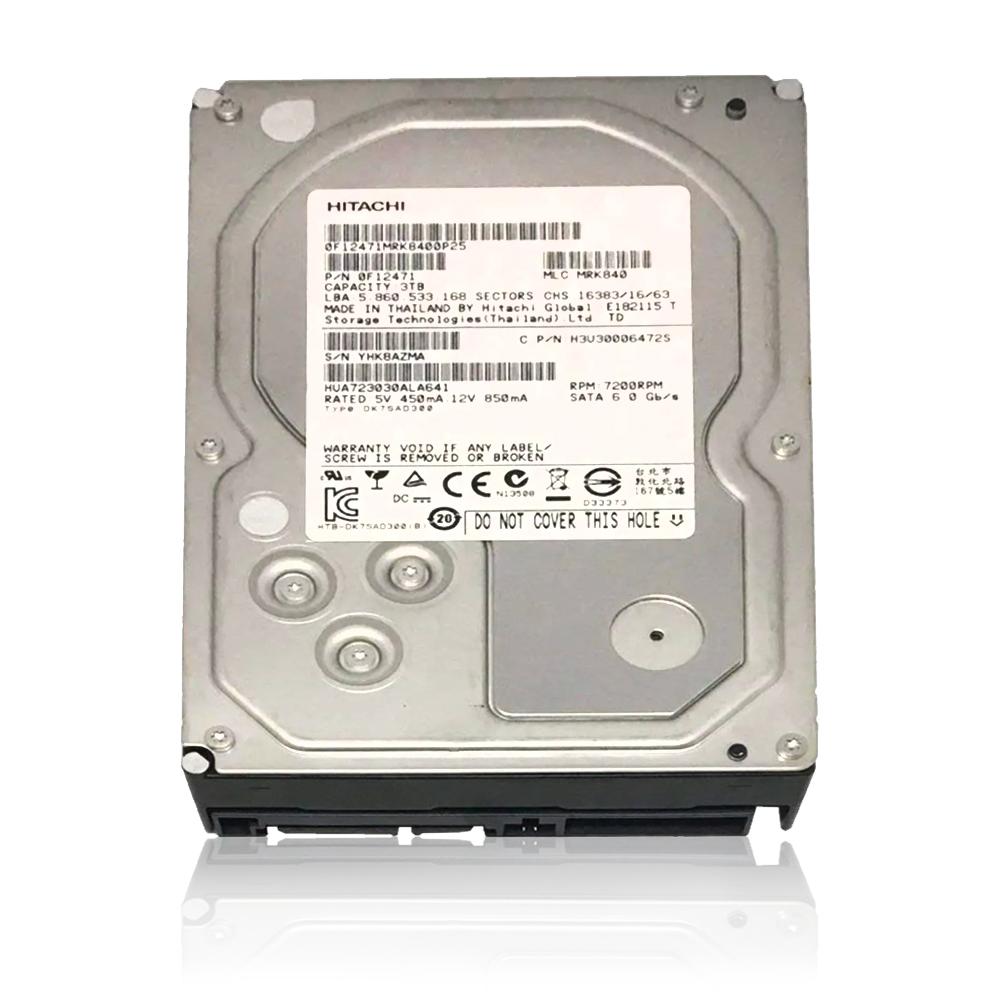 HD  3TB Sata 3 64mb 7200rpm 3,5 PULL HUA723030ALA641 Hitachi
