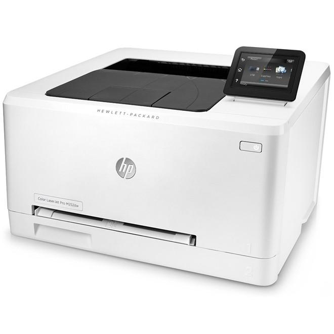 Impressora Laser Color M252DW 18ppm/30000 Duplex B4A22A HP