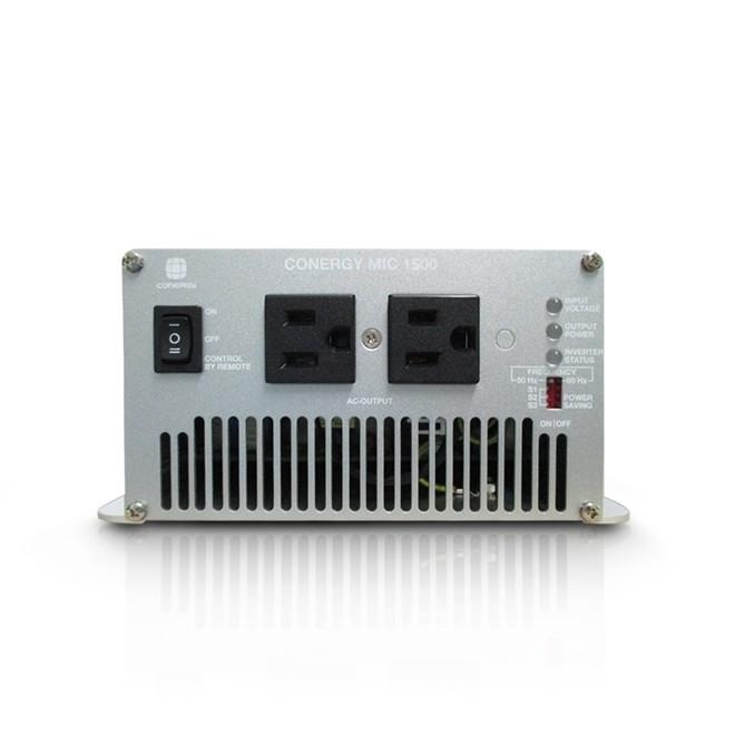 Inversor De Energia Solar Mic 1500 12v 110v Padrao Americano Conergy