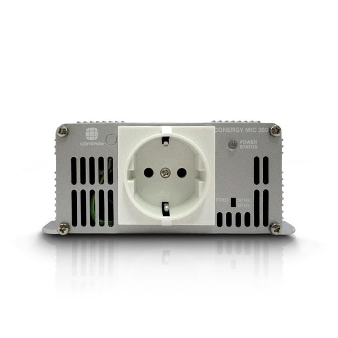 Inversor de Energia Solar MIC 350 24V 220V Padrao Alemao  Conergy