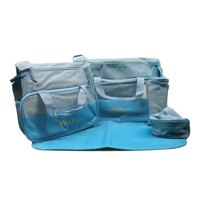 Kit Bolsa Maternidade Azul IWKBMAZ Importway