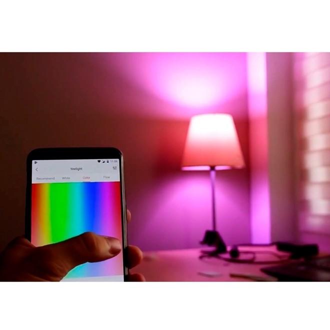 Lampada Led Inteligente RGB Colorida Wifi Bivolt 10W E27 YLDP06YL Xiaomi