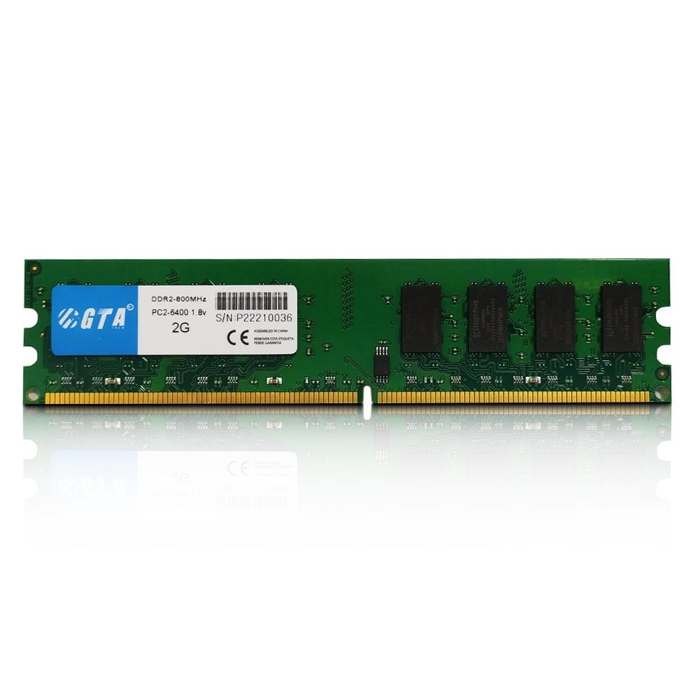 Memoria 2gb Ddr2 800 Cl 6 1.8V Desktop  GT2G800L6D GTA Tech
