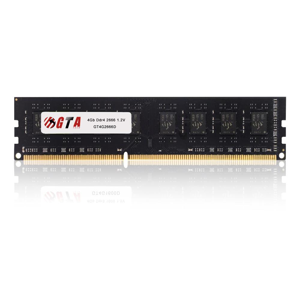 Memoria 4Gb Ddr4 2666 Cl 19 1.35V Desktop  GT4G2666L19D GTA Tech