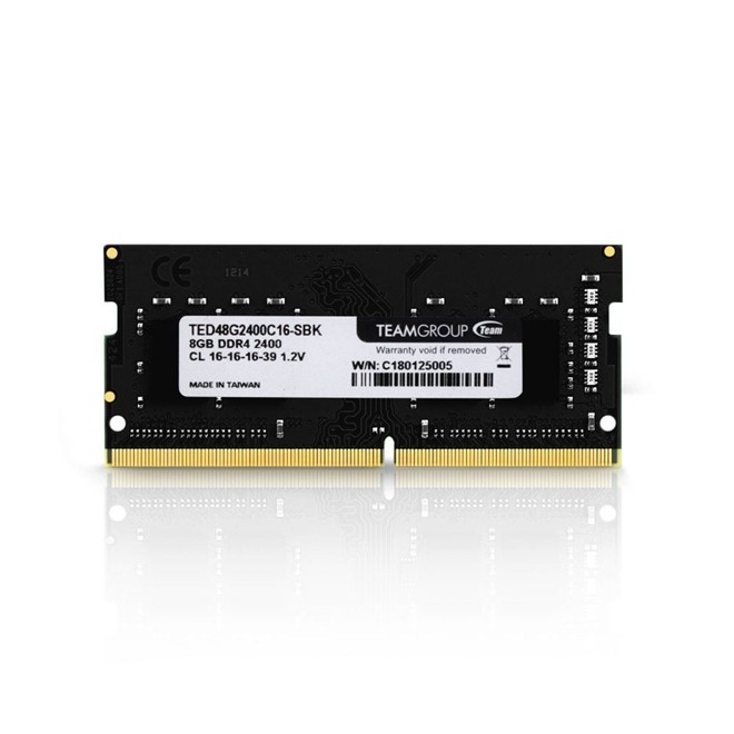Memoria Notebook 8gb Ddr4 2400 Ted48g2400 Team Group
