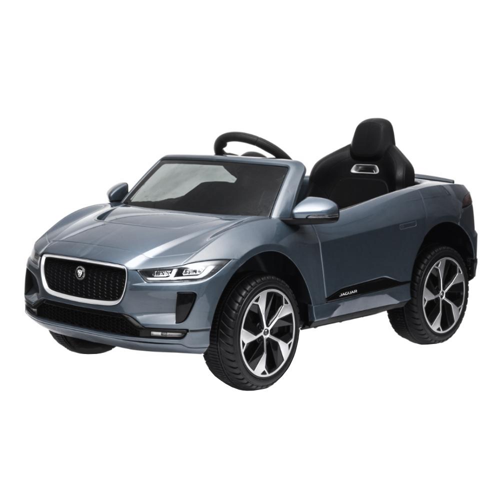 Mini Carro Eletrico Jaguar Cinza 12v C/ Som e Luz BW153CZ Importway