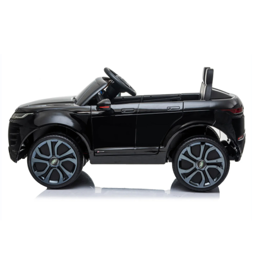 Mini Carro Eletrico Land Rover Evoque Preto 12v C/ Som e Luz BW128PT Importway