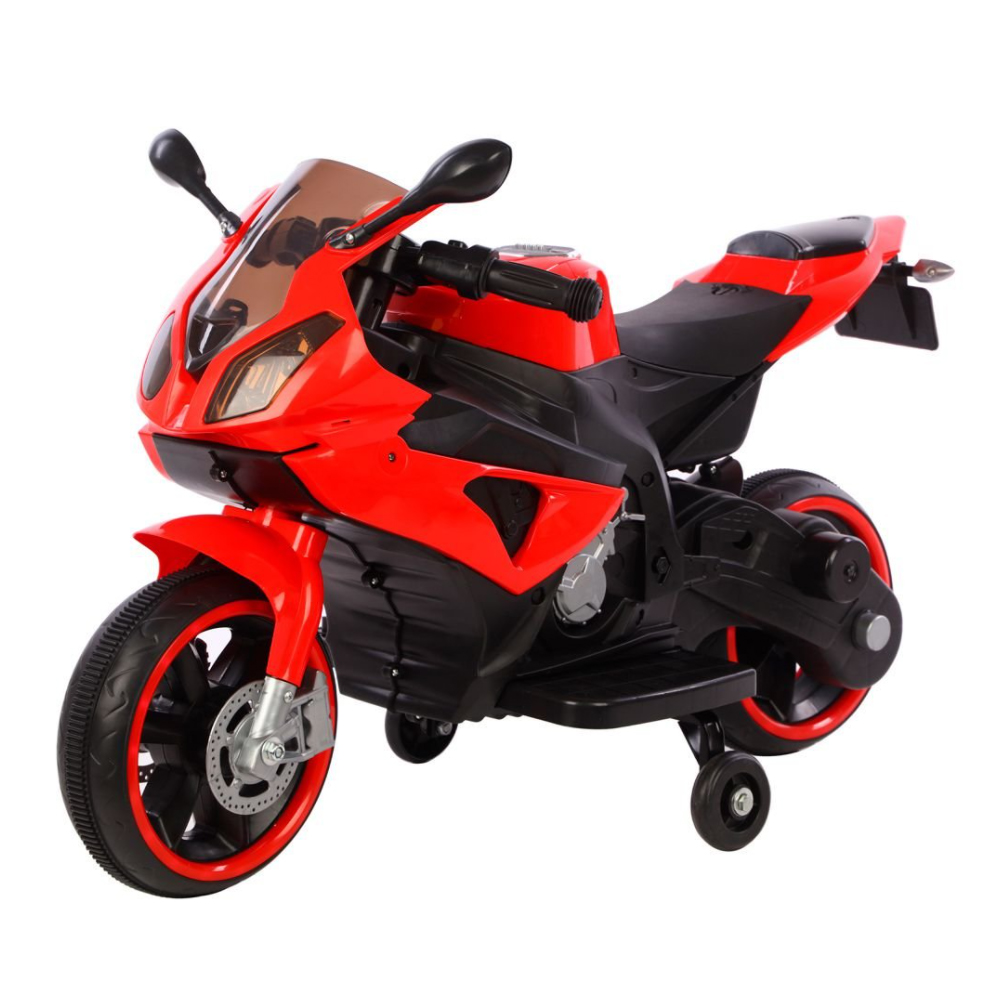 Mini Moto Eletrica Infantil 6v Vermelha C/ Som e Luz BW127VM Importway