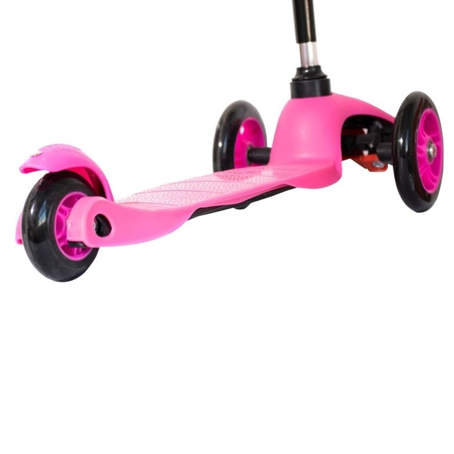 Patinete Infantil 3 Rodas com Altura Regulavel Rosa BW11R Importway