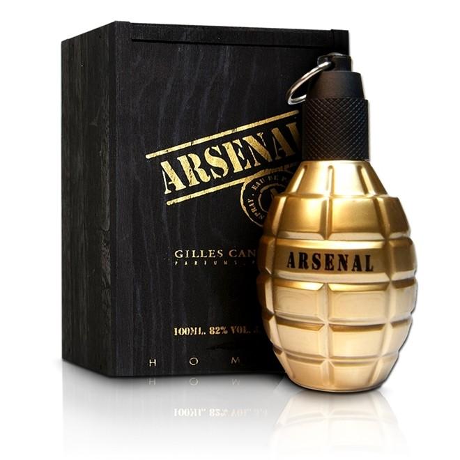 Perfume Arsenal Gold Masculino 100ml Eau de Parfum Gilles Cantuel