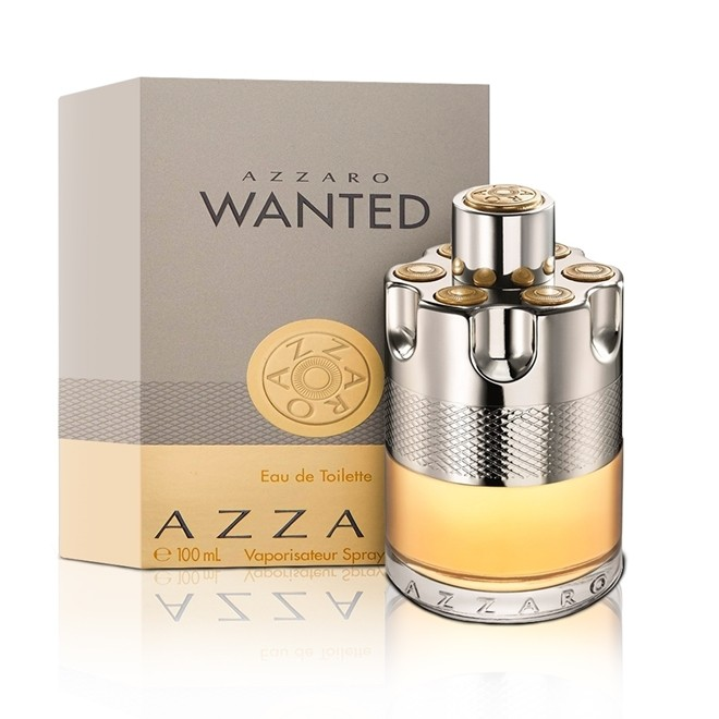 Perfume Azzaro Wanted Masculino 100ml Eau de Toilette Azzaro